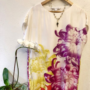 Diane von Furstenberg, Small, Silk Floral Shift